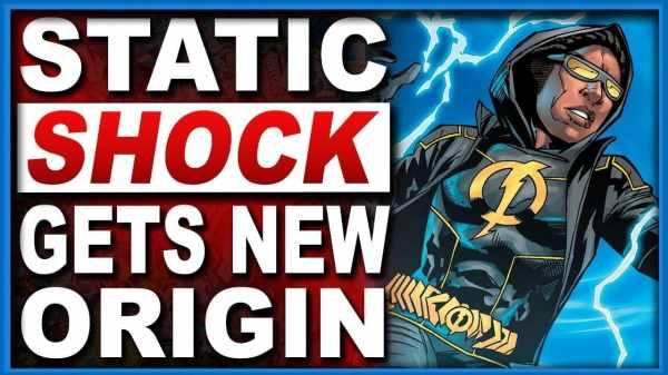 Static Shock's New Origin Story