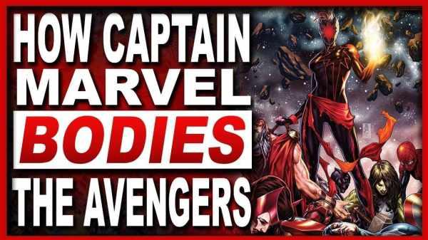 captain marvel bodies the avengers