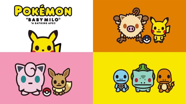 Pokemon X Bape Collection
