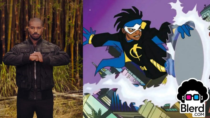 michael b jordan static shock