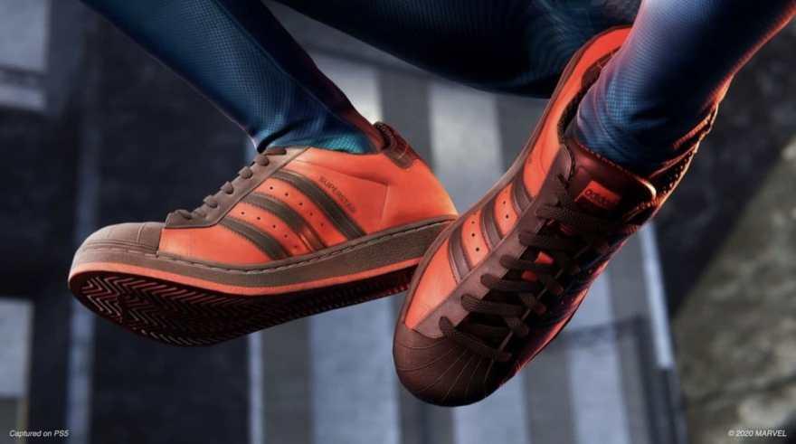 Adidas Spiderman Superstar Shoes 4