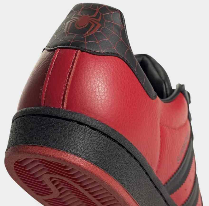 Adidas Spiderman Superstar Shoes 7