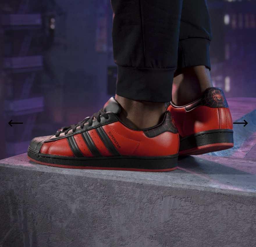 Adidas Spiderman Superstar Shoes 9