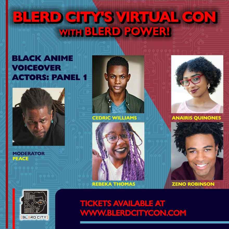 Blerd City Con Virtual Event 2020 4