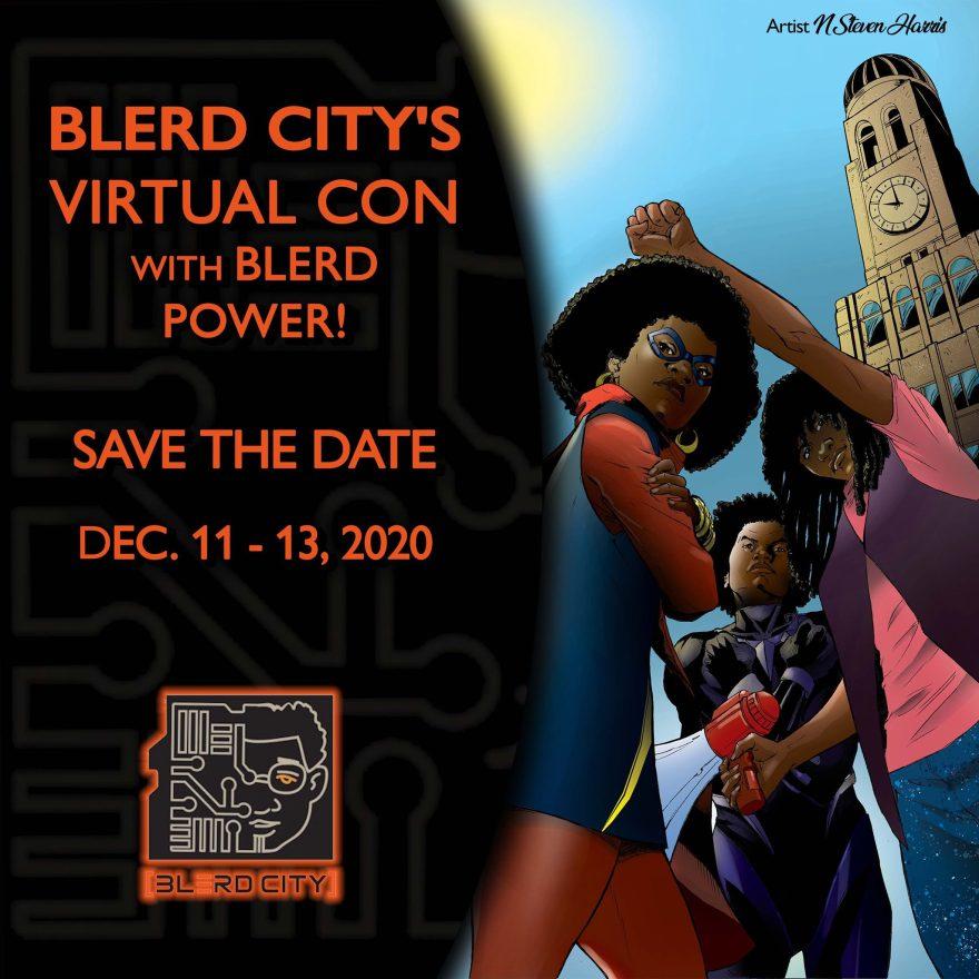 Blerd City Con Virtual Event 2020 5