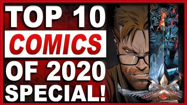 The Top 10 Comics Of 2020