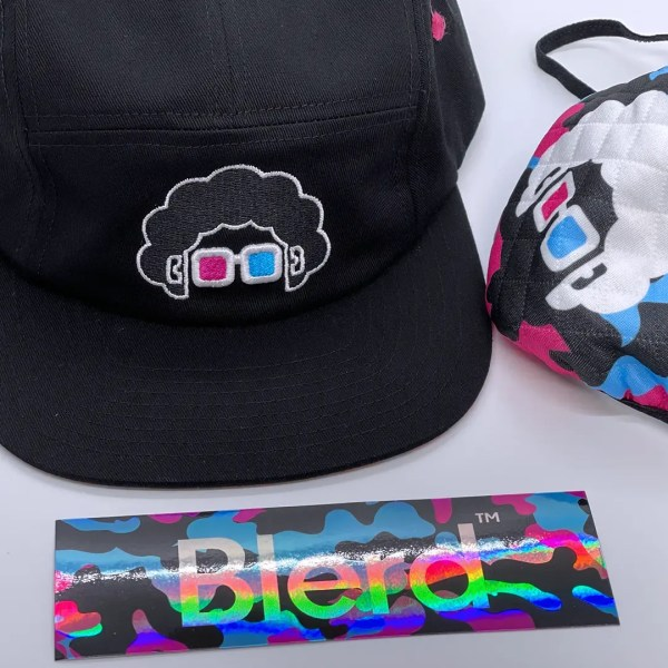 Blerd Limited Edition 5 Panel Hat 5