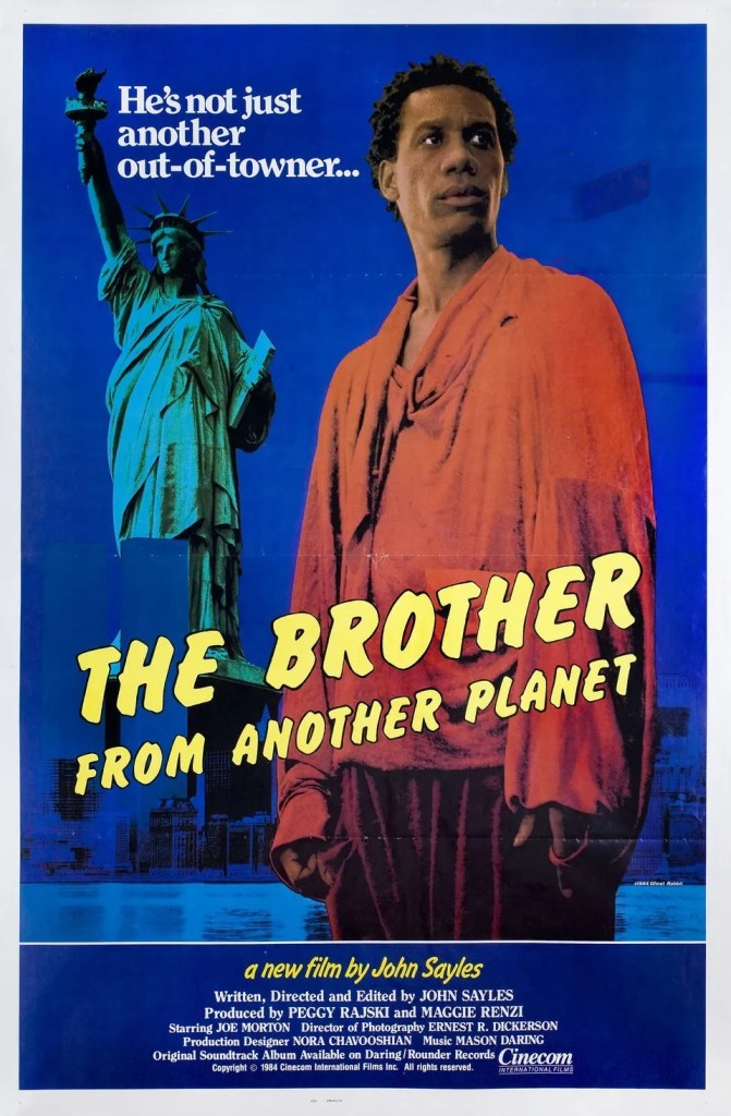 The Brother From Another Planet Movie Poster