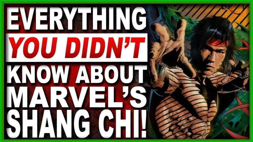 Who Is Shang Chi From Marvel Everything You Need To Know