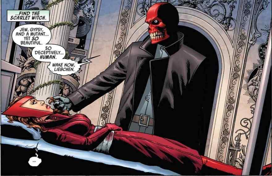 Wanda & The Red Skull