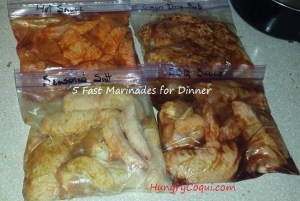 quick marinade options