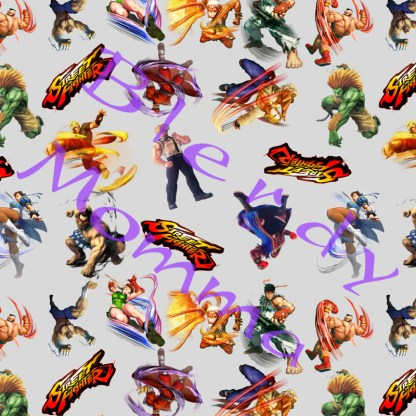 Street Fighter fabric