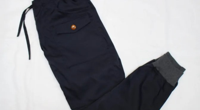 [Re made in tokyo japan] Comfortable Easy Rib Pants