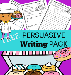 Free Persuasive Writing Packet - The Annual Creative Donut Contest -  Blessed Beyond A Doubt [ 1080 x 1080 Pixel ]