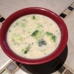 Cream of Broccoli Soup (Vegan)
