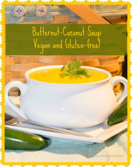 Try this #Butternut #Coconut soup--#vegan and #glutenfree http://wp.me/p2UZoK-3k via @blestbutstrest