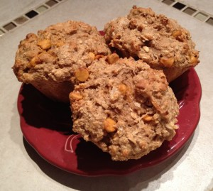 These muffins taste good enough to serve for dessert but are healthy enough to serve for breakfast!