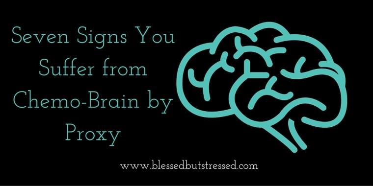 chemo-brain by proxy