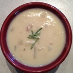 Rosemary Potato Soup-Creamy and Vegan