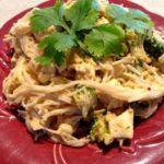 Creamy Chipotle Rice Noodles (Vegan & gluten-free)