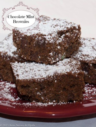Healthy (er) #brownies disguised as decadence--so good, no one will know! http://wp.me/p2UZoK-ax via @blestbutstrest #chocolate #mint