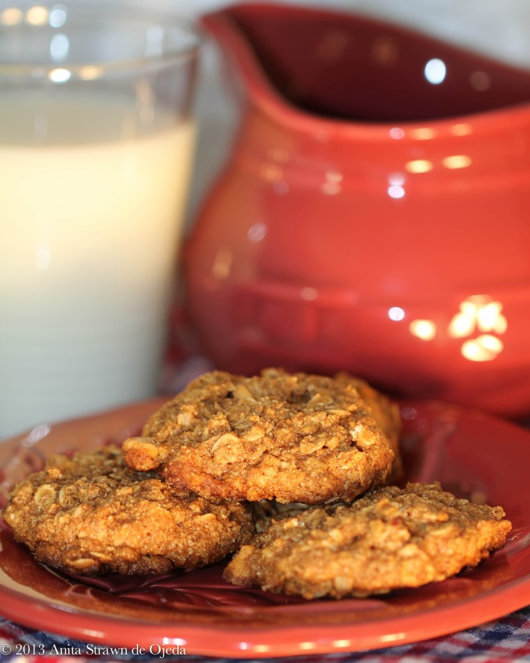Butterscotch-Oatmeal cookies