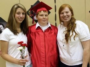 Karina, Andrew and Larissa