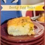 Zesty Egg Bake