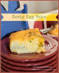 Zesty Egg Bake