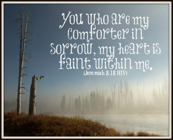 Jeremiah 8:18 http://wp.me/p2UZoK-tP