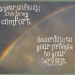 God's Unfailing Love Provides Comfort for Caregivers