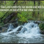 God Offers Comfort in Affliction