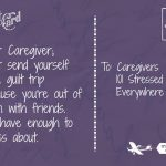 A Letter to Caregivers