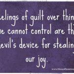 Feeling Guilty?