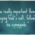 Follow God–Not Fellow Christians