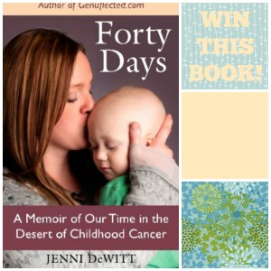 Forty Days Giveaway