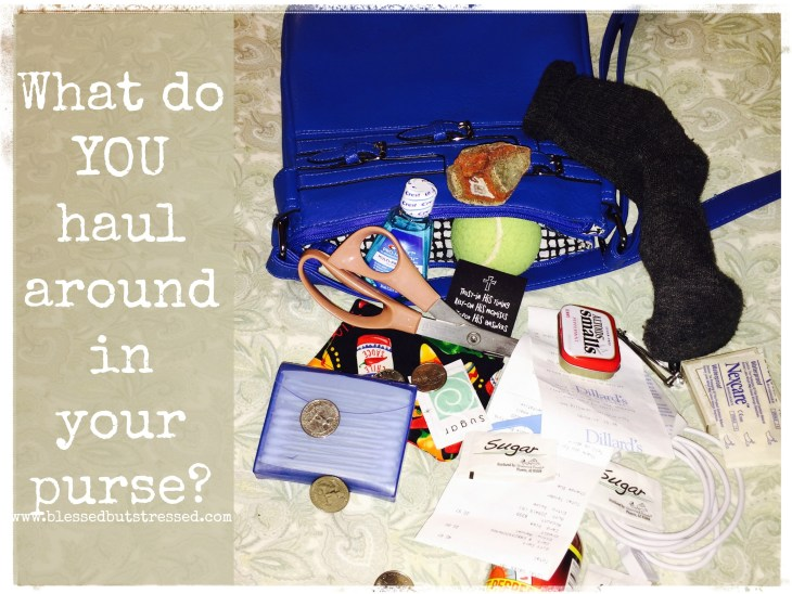 What do YOU haul around in your purse?