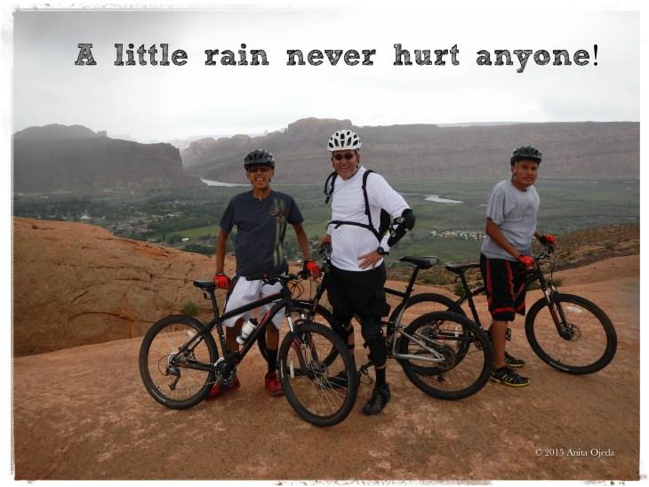 Slickrock Trail in the Rain