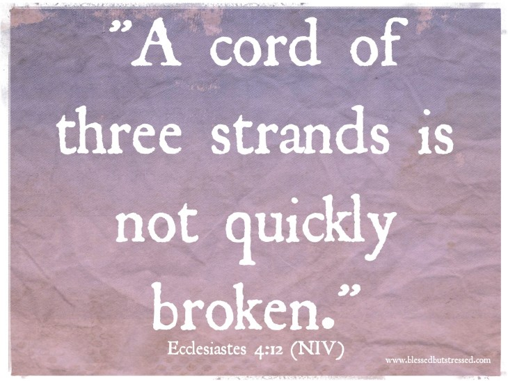 A cord of three strands