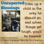 Train Up a Child (it strengthens the fight)