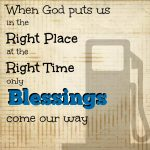 Be in the Right Place at the Right Time – part 2