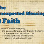 The Unexpected Blessing of Four-Year-Old Faith