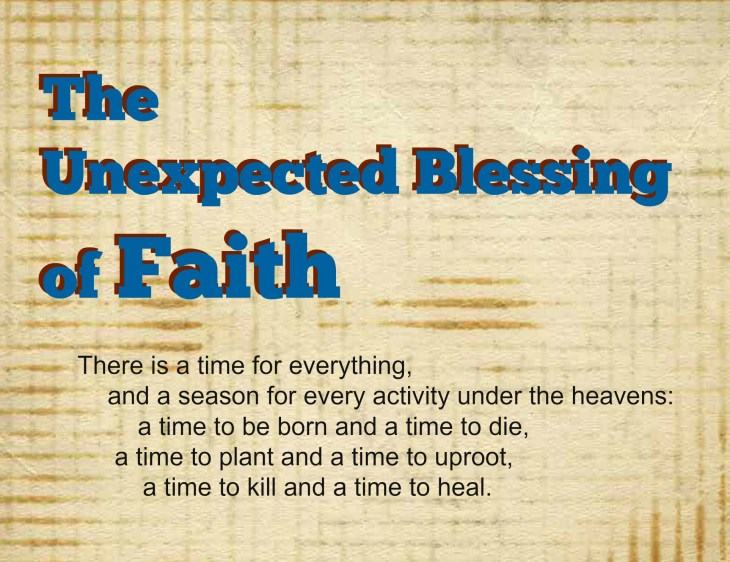 The most inspiring thing for a caregiver is faith - and if it's demonstrated by your patient? Even better!