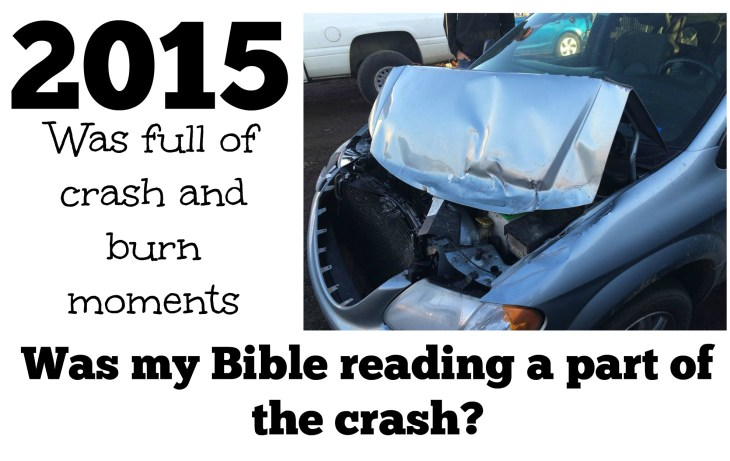 The year held lots of rough spots, did the Bible make a difference?