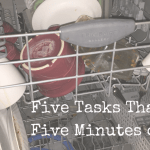 Five Tasks You Can Complete in Under Five Minutes