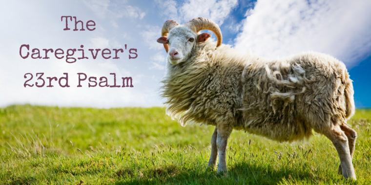 caregiver's psalm