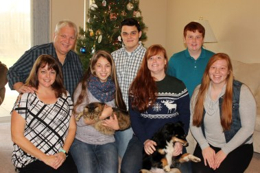 My Christmas gang was so much fun. But now it's New Year's and new starts...