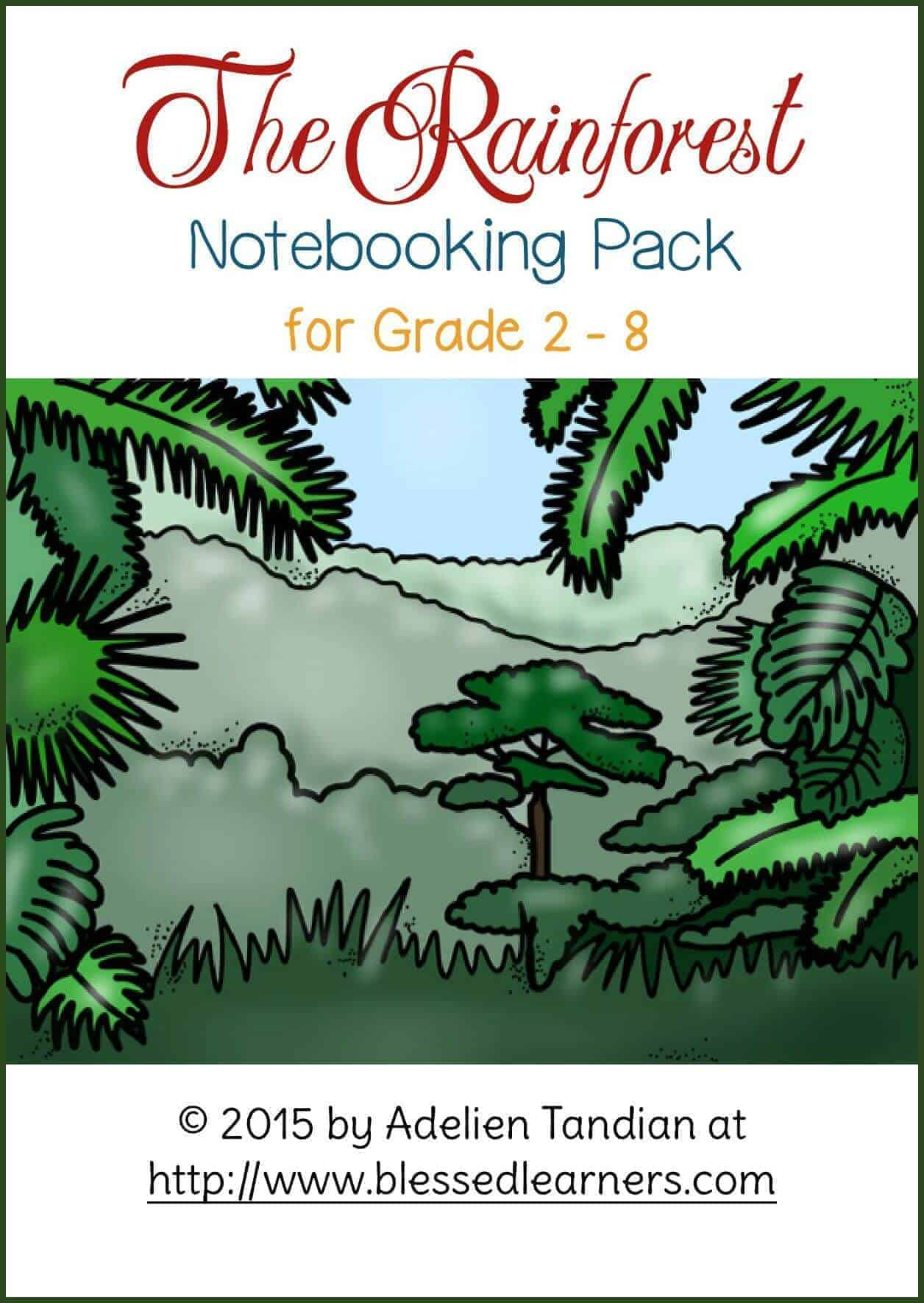 The Rainforest Notebooking Pack