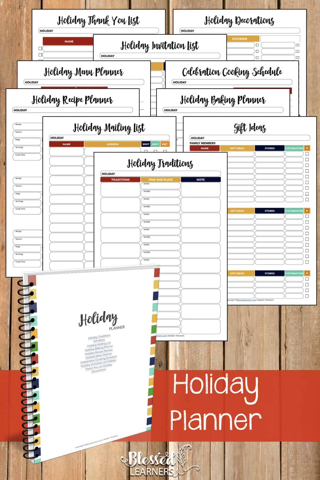 200 Pages Of Ultimate Life Planner Organizer