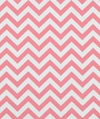 Premier Prints Zig Zag Baby Pink/White Fabric